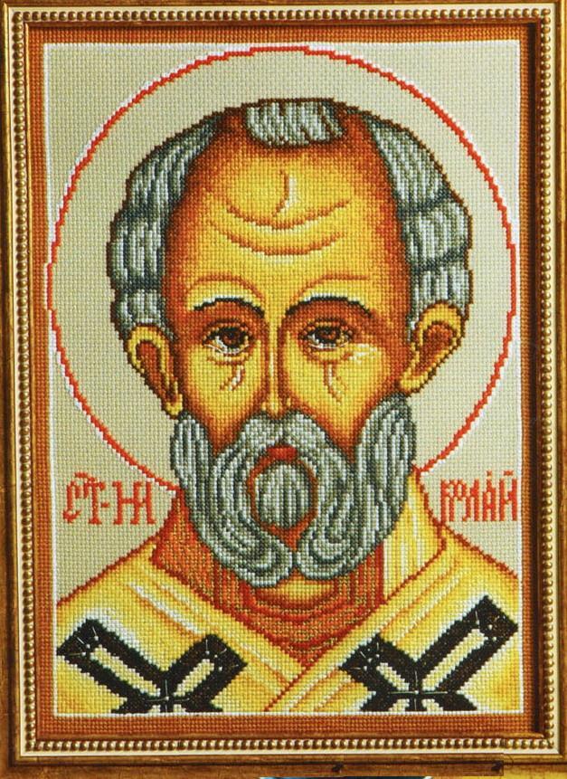 икона вышивка крестом